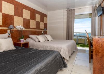 le richmont hotel marseillan chambre double