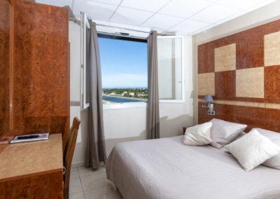 le richmont hotel marseillan vue fenetre
